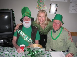 Chris, Margaret, and Jos