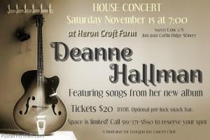 20141115 deanne house concert