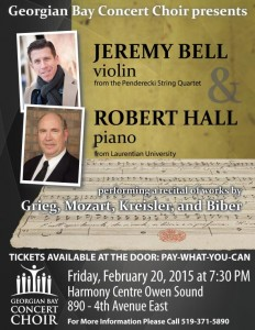 20150220 Bell Hall Poster