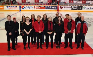 Choir on ice