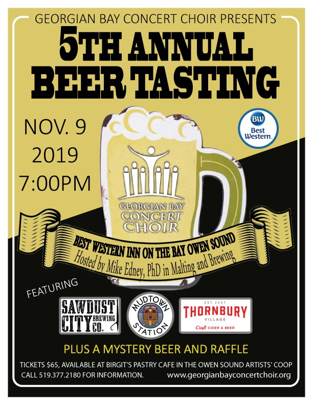 5th Annual Beer Tasting